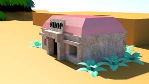 WIP: Mabe Village, shop