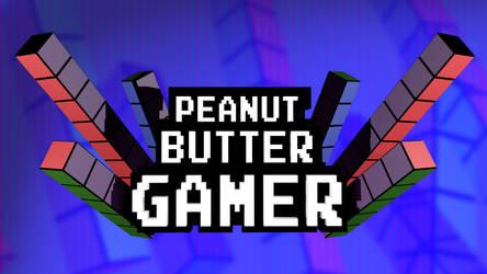 Peanut Butter Gamer Logo 3D