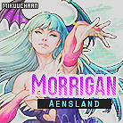 Morrigan Icon 1 by MikuuChaan
