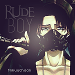 Rude Boy - Rivaille Icon by MikuuChaan