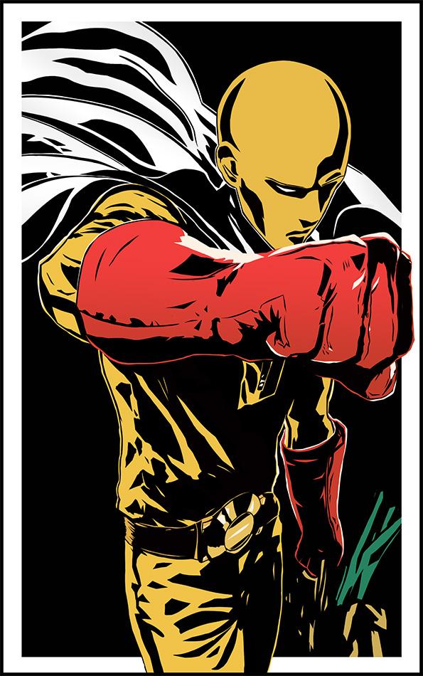 Saitama - The HERO by MasterPrior