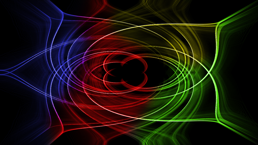 Neon Abstract by Conceite