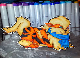 PPD #059 Mwokozii's Arcanine by SusieCurlyQ