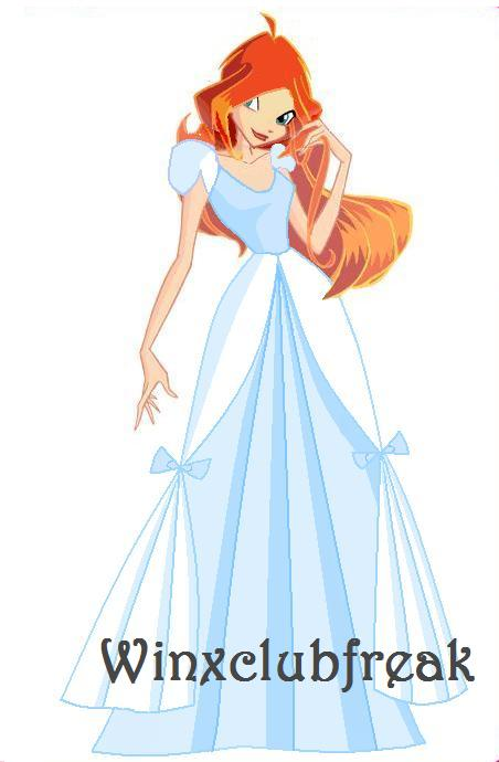 Winxclub bloom princess dress by winxclubfreak on deviantart - Princesse winx ...