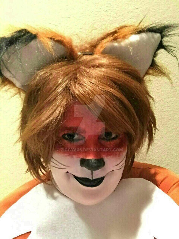 Fox Makeup By Ziggy606 On Deviantart - Fox-makeup