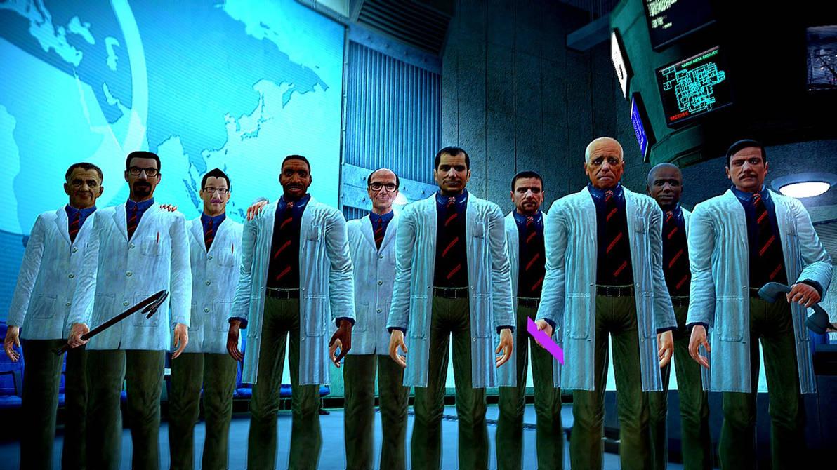 The Scientists of Black Mesa by KillroyFreeman