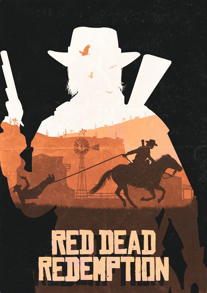 Red Dead Redemption by LeeShackleton