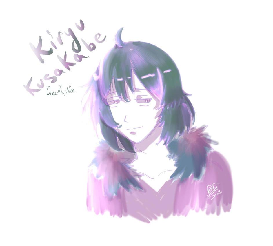 [Occultic Nine] Kiryu Kusakabe by DFTisaki