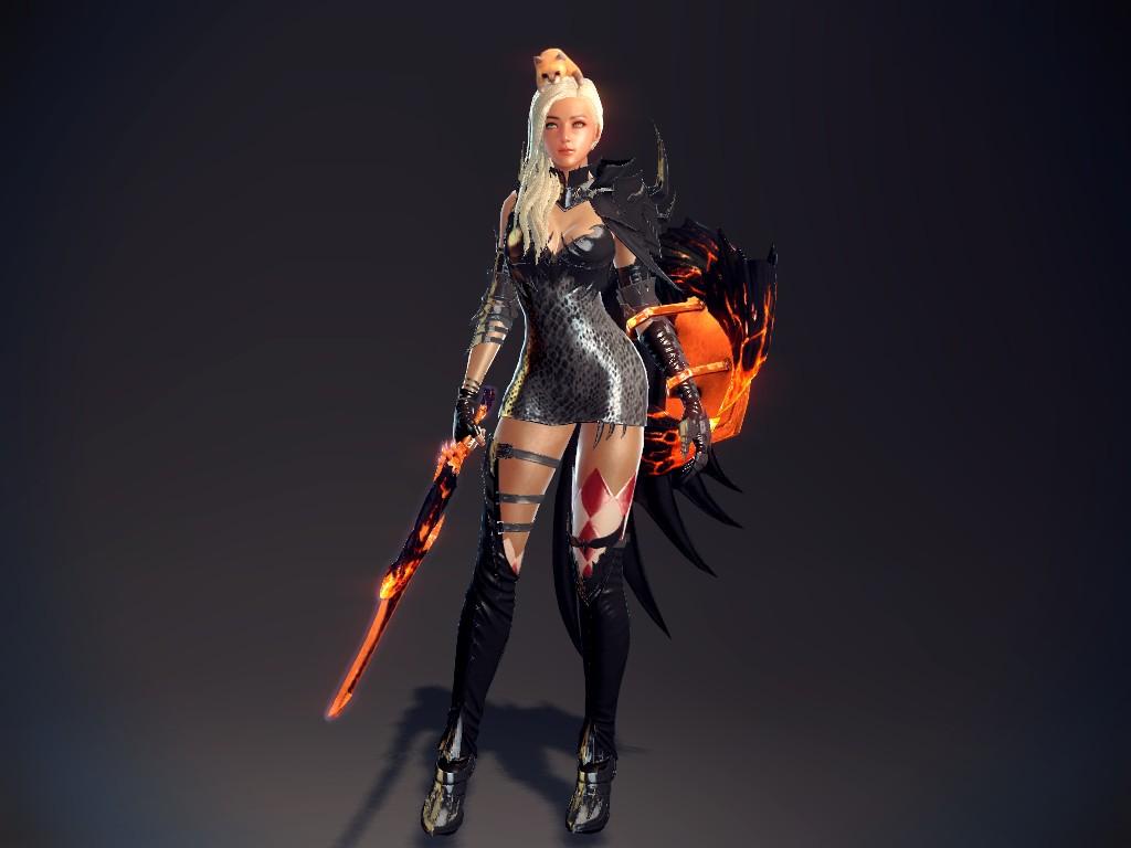 Vindictus Fiona Cat Hat Regina Armor Blonde Hair By Lyceum On