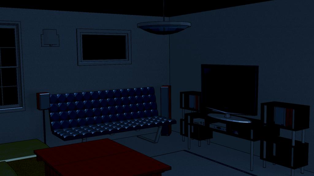 Anime Background Living Room By Bakhtiar93tiar