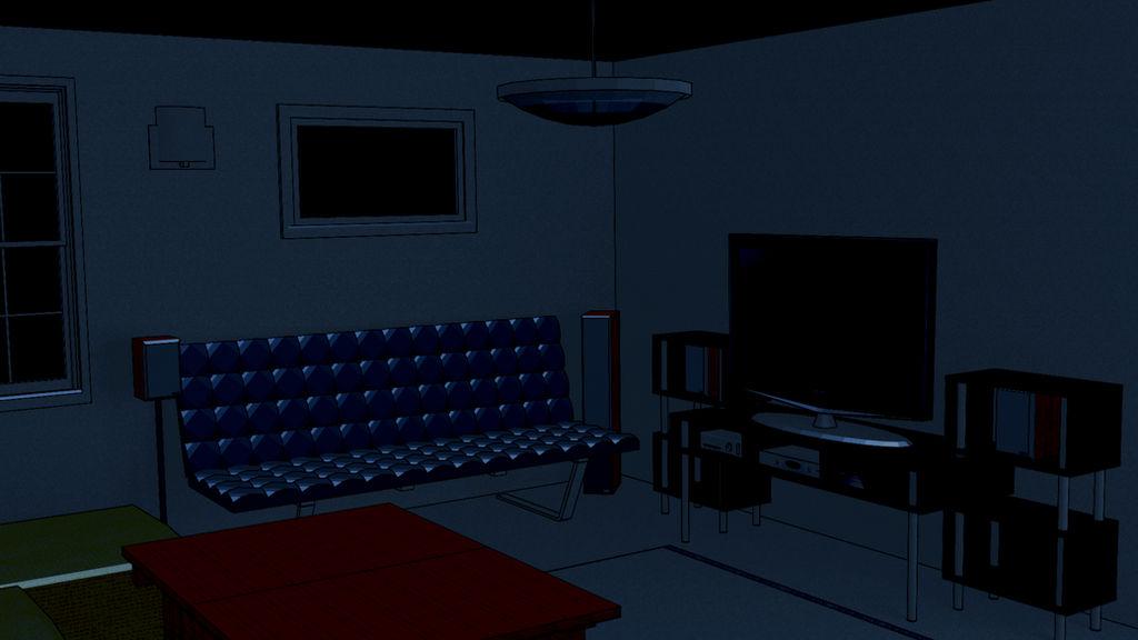 Anime Background Living Room By Bakhtiar93tiar On Deviantart