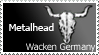 Wacken-Metalhead Stamp by maropho