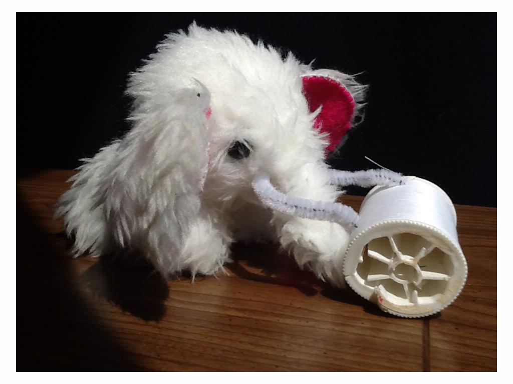 The White Mimmoth by KingEzekiel
