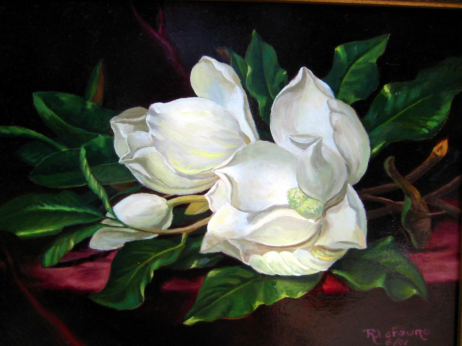 magnolias by Flaven