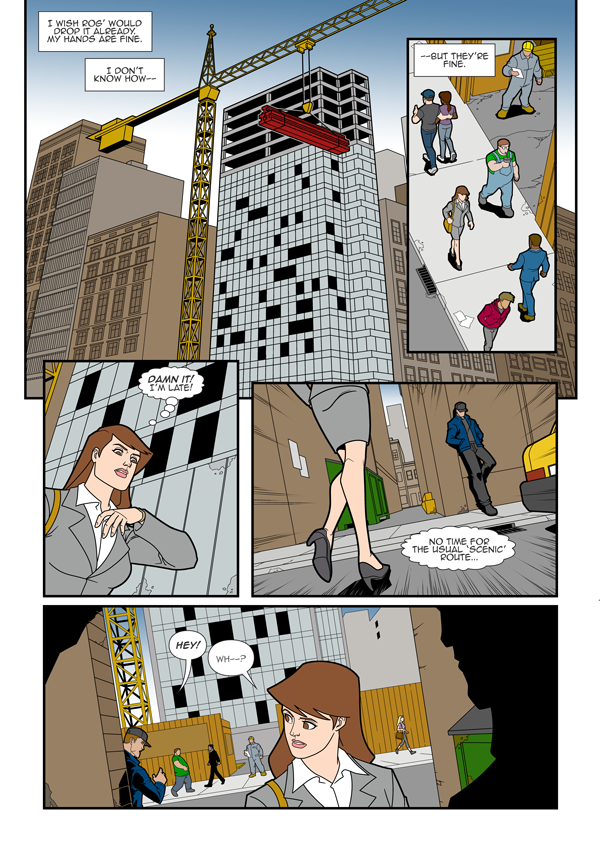 Impossible Woman Page #05 by CDanChan