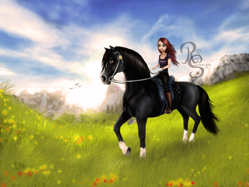 Star Stable Online - Edit by Ruby Silverland by RubySilverland on ...