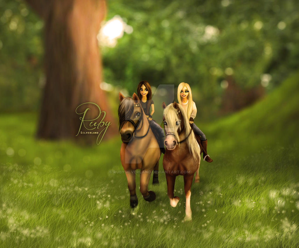 Star Stable Online Edit By Ruby Silverland By Rubysilverland On