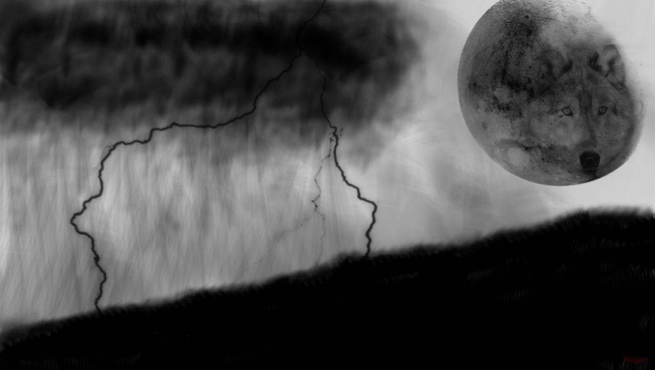 some of my art =P Moonwolf_by_Piegansnake