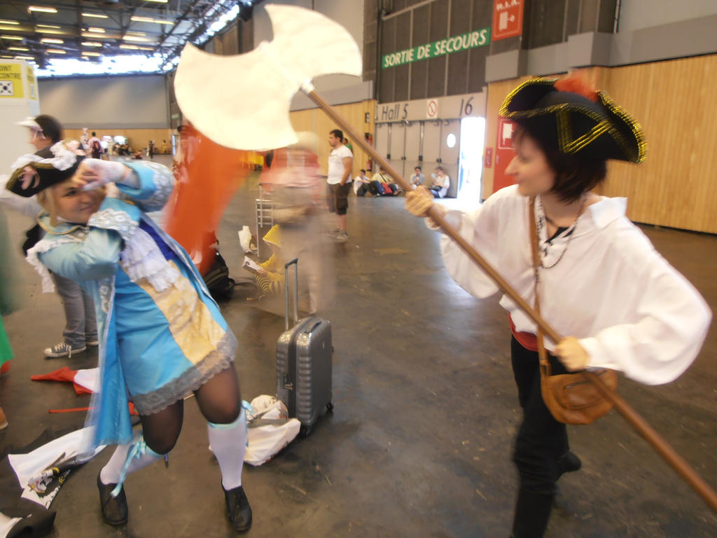 Fight! - Japan Expo 2014 by Merietje