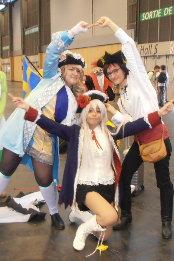 The Bad Touch Trio - Japan Expo 2014 by Merietje
