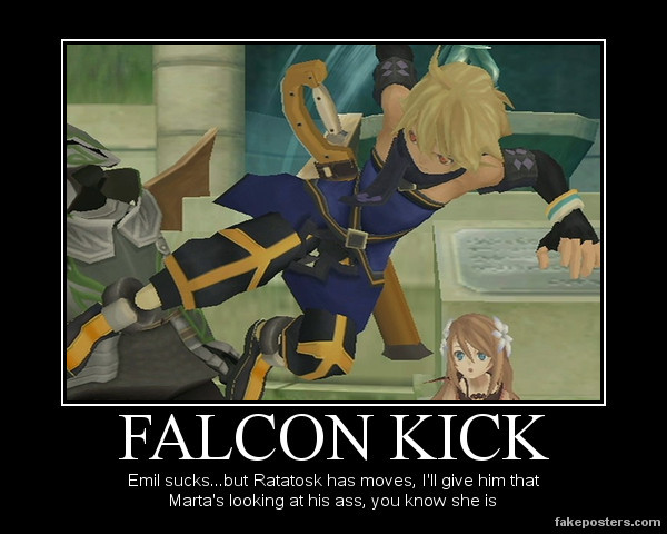 FALCON KICK by chereseaaurion8