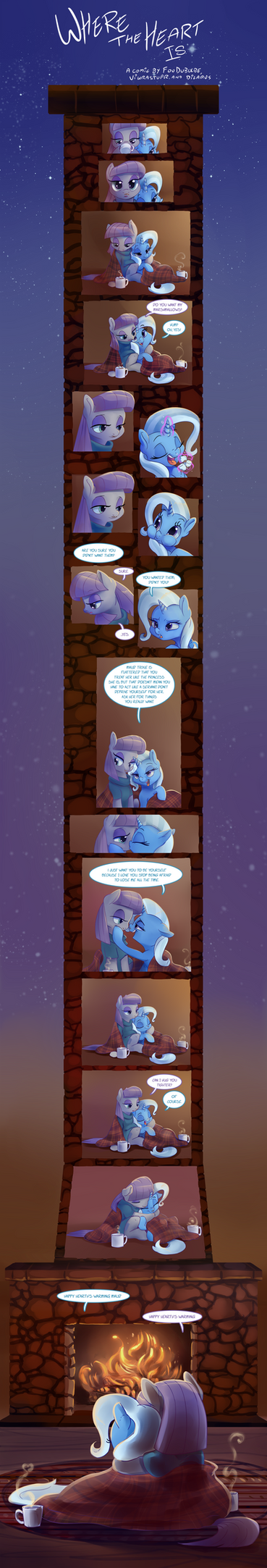 Where the Heart Is by Dilarus