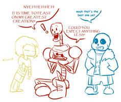 Adventures of Dundertale by TabberHatter