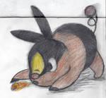 Tepig Doodle by FuriousFurbies