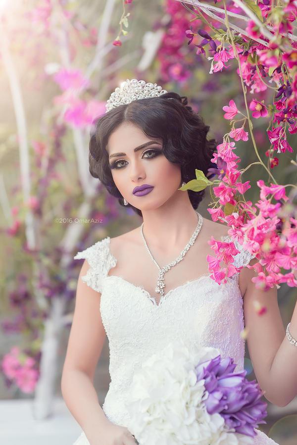 Ahlam Al Tawel - Makeup Artist by OmarAziz