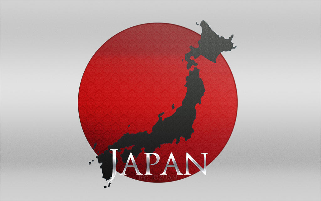 Japanese Flag Wallpaper Japan Flag Wallpaper by Jozuan