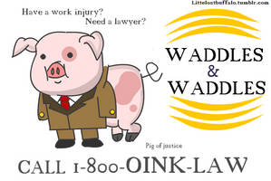 Pig Of Justice by Littlelostbuffalo