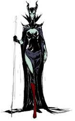 Maleficent sketch by Chorosnfs