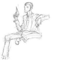 Lupin III sketch by Chorosnfs