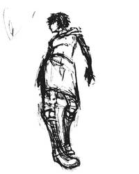 Girl bottom-up by Chorosnfs