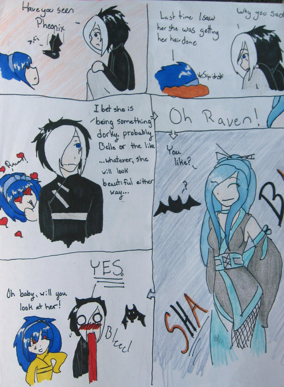 Awkward Halloween Comic pg 2 by Ambilia-Scriba