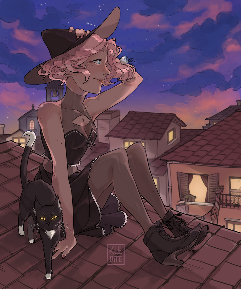 [P] Cat on the roof