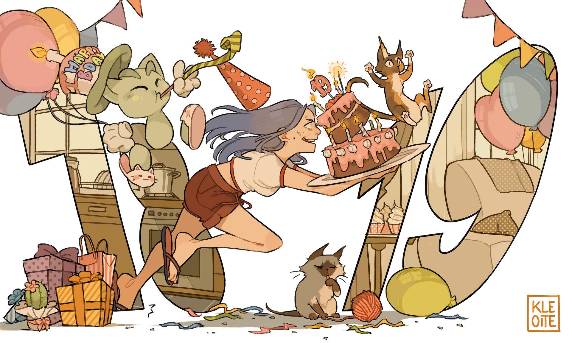 It's birthday time!