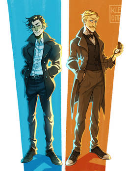 [C] Detectives of different times