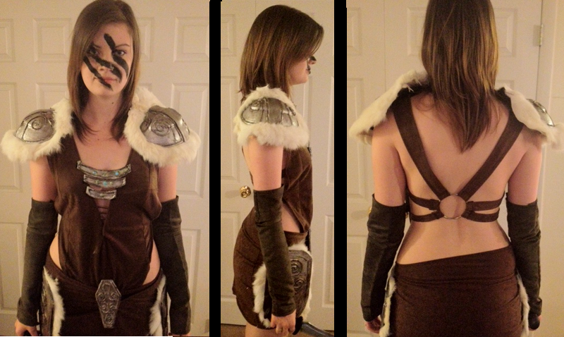 Aela Cosplay (Skyrim) - Full Shot of Costume by LadySnip3r
