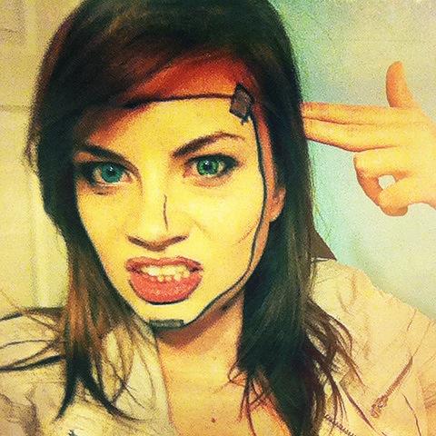 Handsome Jill Makeup Test (Borderlands) by LadySnip3r