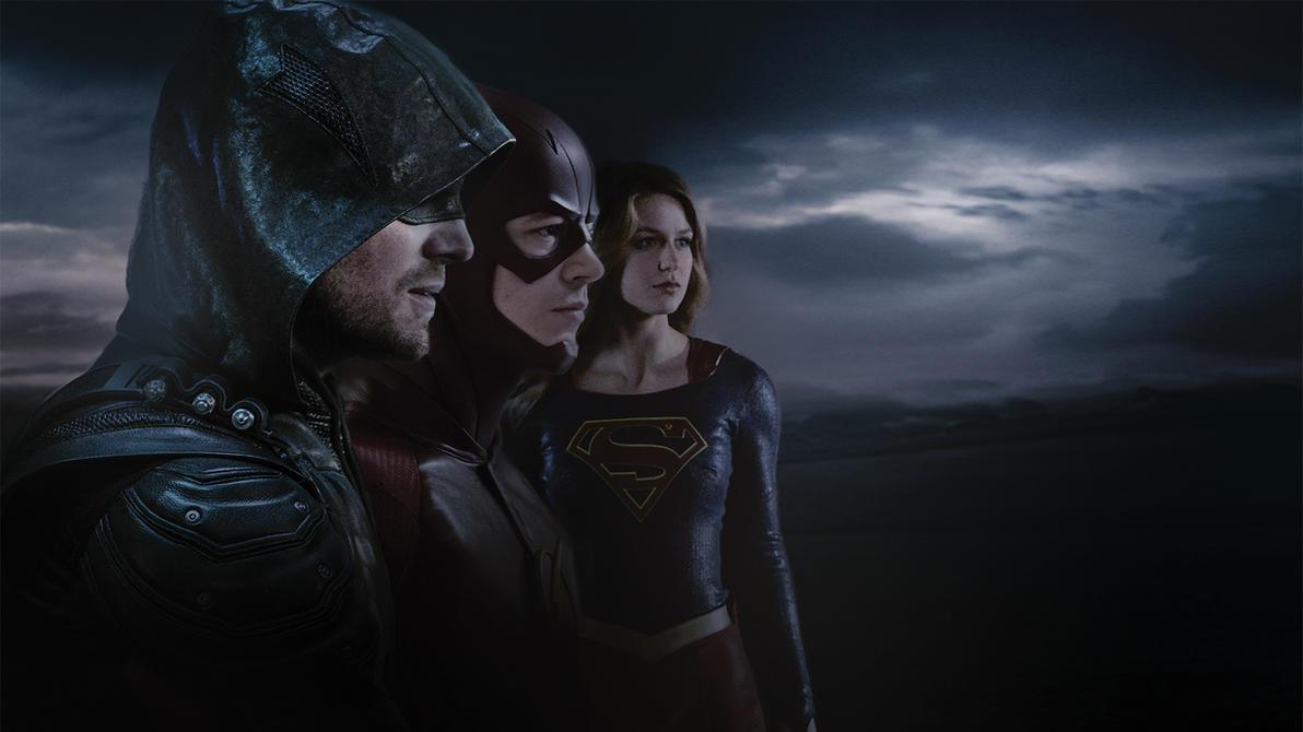 DC Television Universe Hi Res Wallpaper By Dan Zhbanov