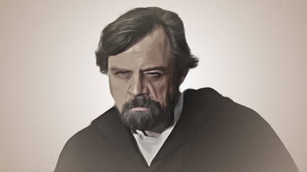Luke Skywalker by dan-zhbanov