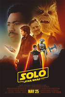 Solo - A Star Wars Story Poster by dan-zhbanov