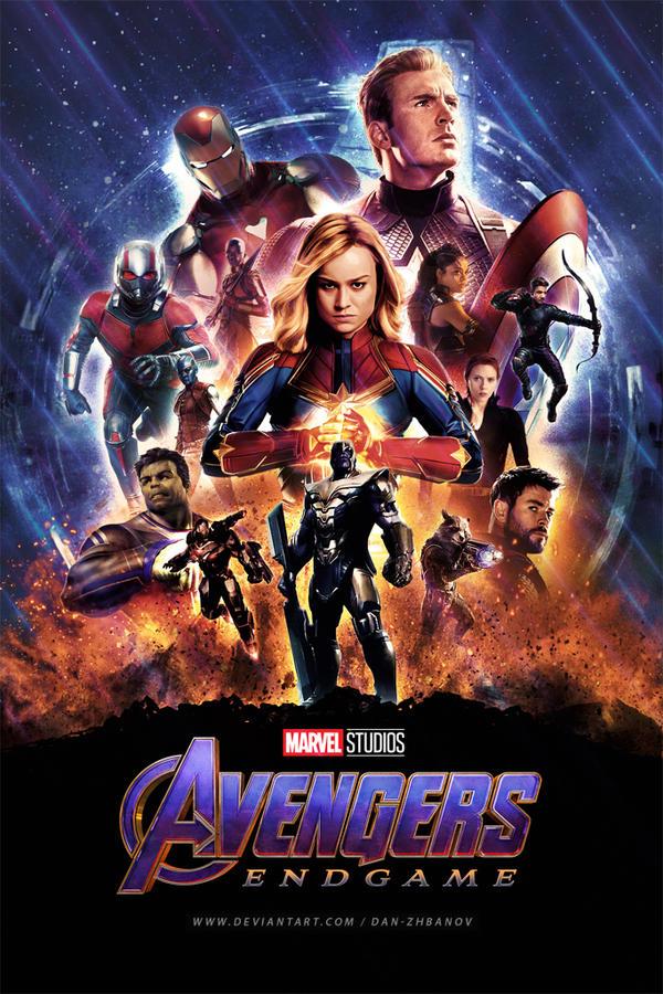 Avengers Endgame 2019 By Dan Zhbanov On Deviantart