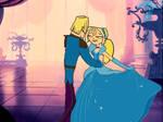 Bridgette and Geoff Cinderella