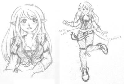 Sylphia - Character Design V1 by Miss-Strawberrii