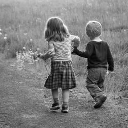Walk with me, I said