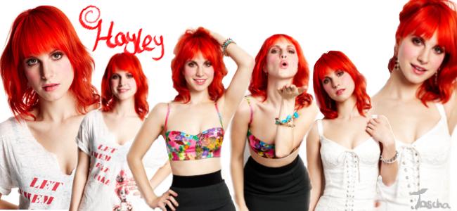 Hayley Williams photoshoot 1 by TaschaXX