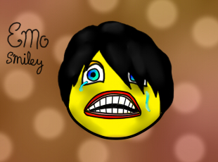 Emo Smiley by TaschaXX