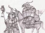 Bruja errante - Rambling Witch by Bodach